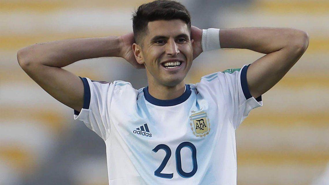 Exequiel Palacios vuelve a alejarse de la Selección.