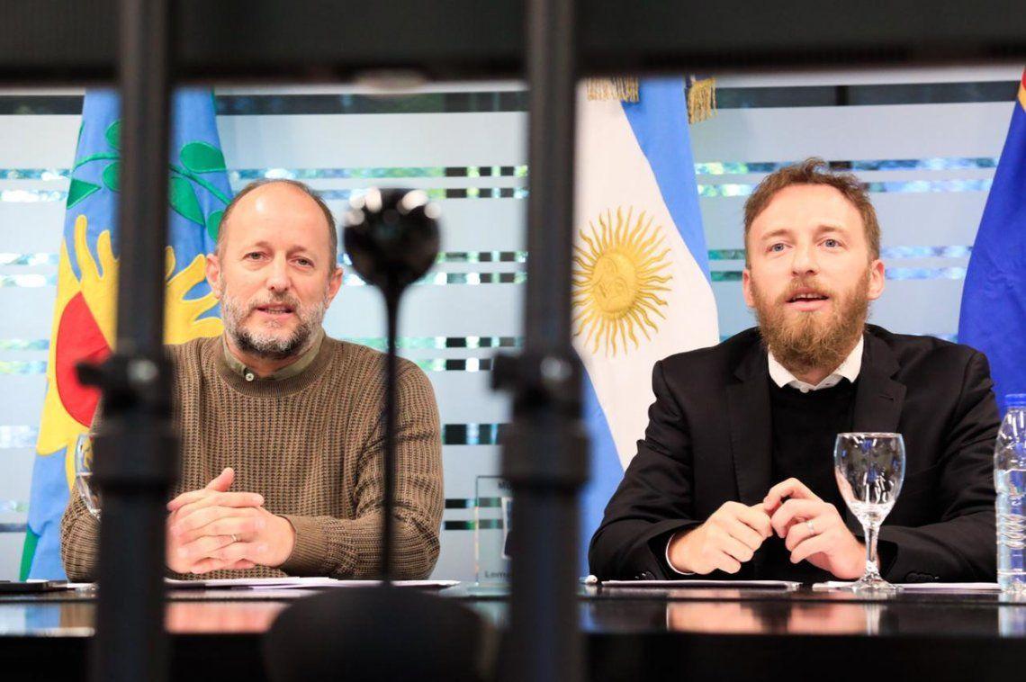 Insaurralde y Otermín se reunieron con el embajador chino