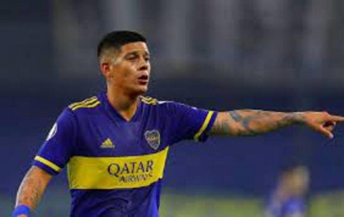 Marcos Rojo se perfila para ser titular en el Boca-River.