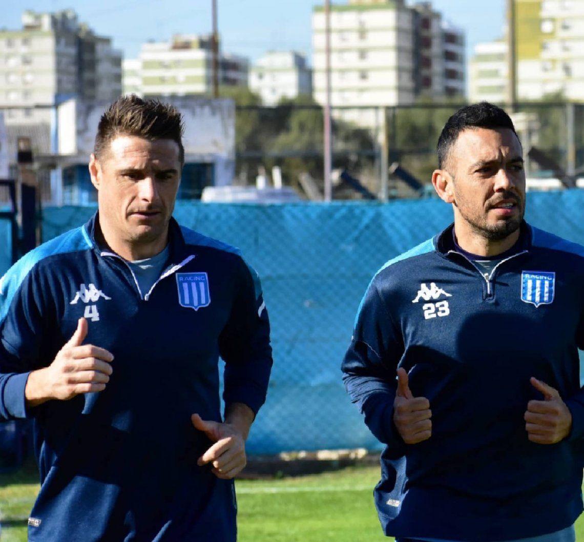 Iván Pillud y Marcelo Díaz entrenaron en el Tita Mattiussi.