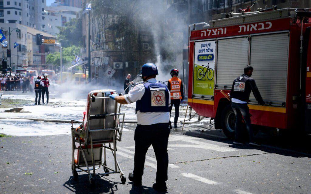 Intesos ataques con cohetes desde Gaza a Israel