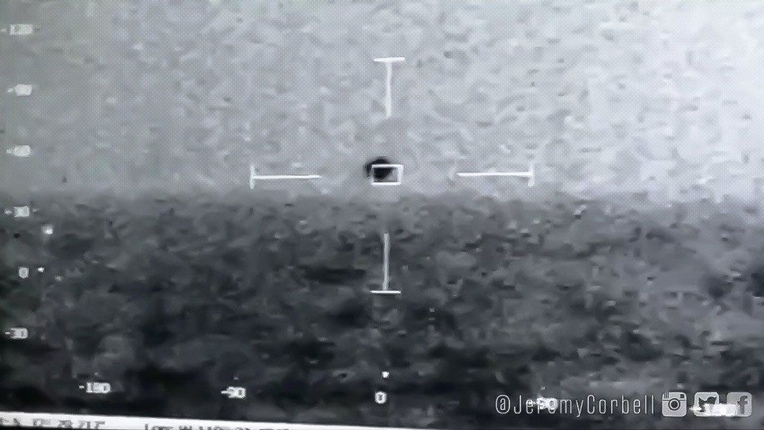 Video capta OVNI y el Pentágono confirma su veracidad