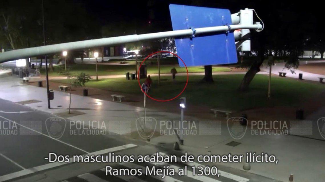 Metrobus Retiro: detienen a ladrones por apoyo de cámaras