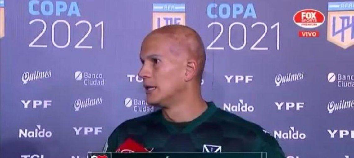Sebastián Sosa volvió a ser el héroe de Independiente.