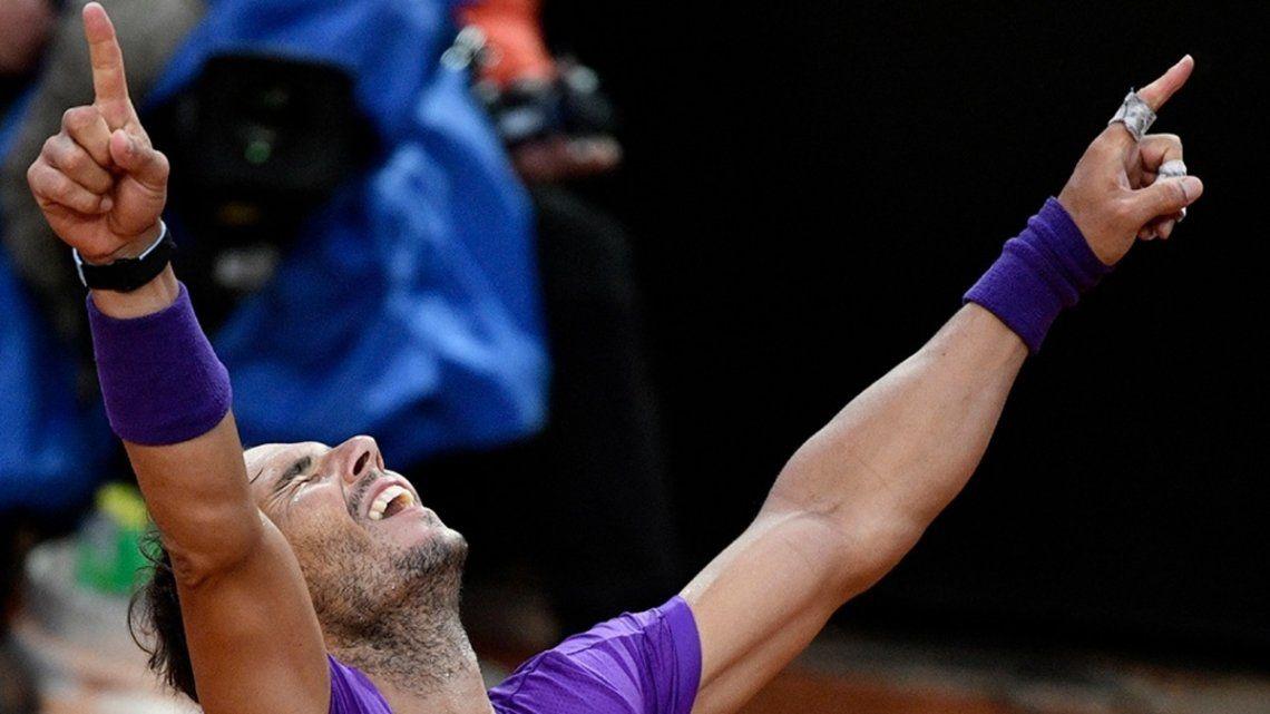 Nadal campeón del Masters 1000 de Roma