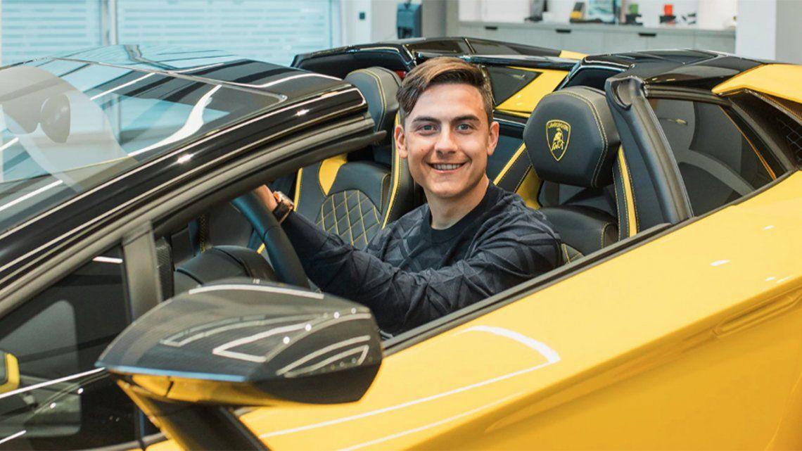 Paulo Dybala: 100 goles con la Juventus y un Lamborghini.