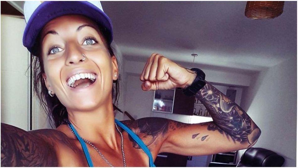 Trelew: la atleta Vanshi.