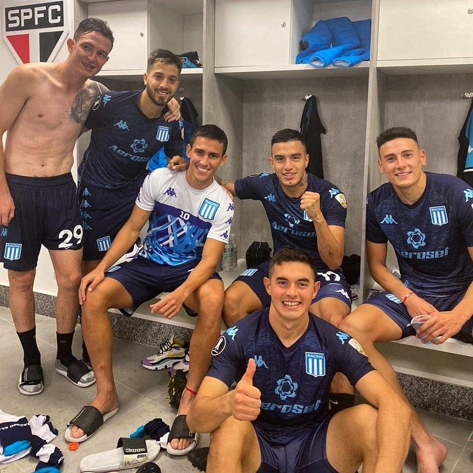 Racing ya está en los octavos de final de la Copa Libertadores