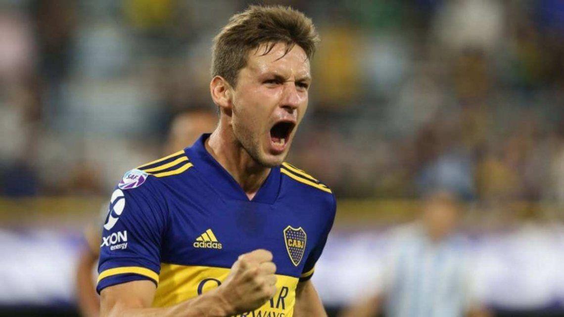 Soldano vuelve a ser titular en la delantera de Boca.