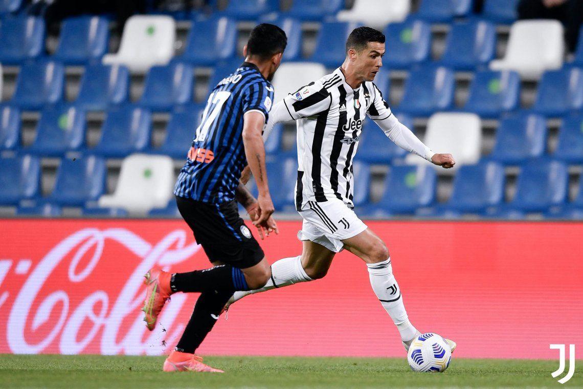 Juventus festejó en la Copa de Italia ante el Atalanta