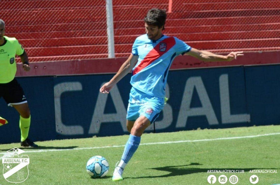 Lucas Albertengo marcó el primero de Arsenal