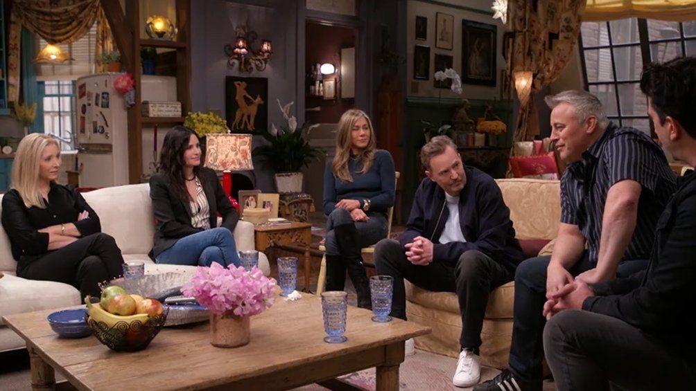 Se estrenó el trailer del reencuentro de Friends