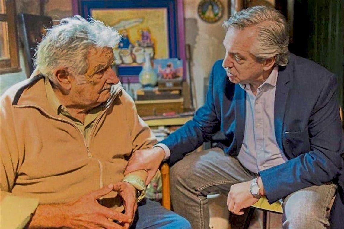 Alberto Fernández saludó al Pepe Mujica en el día de su cumpleaños 86.