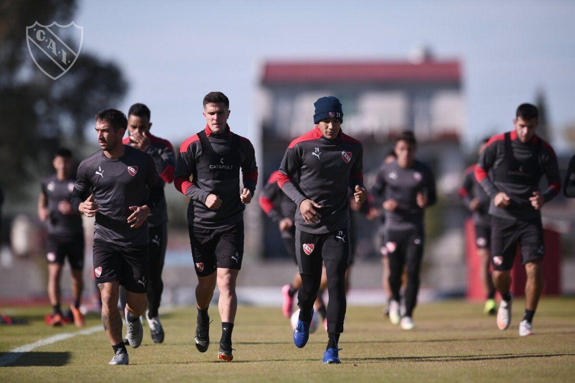 Independiente se entrenó pensando en el Sabalero.