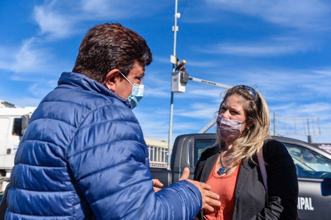 Instalaron cámaras de seguridad en San Justo