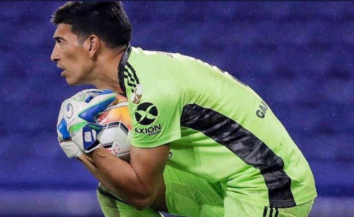Esteban Andrada luego del empate sin goles de Boca