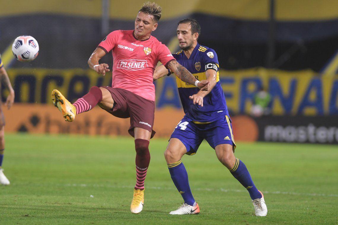 Las mejores fotos del empate entre Boca y Barcelona de Ecuador