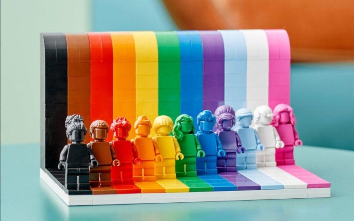 Lego y su homenaje a la comunidad LGBTQIA+