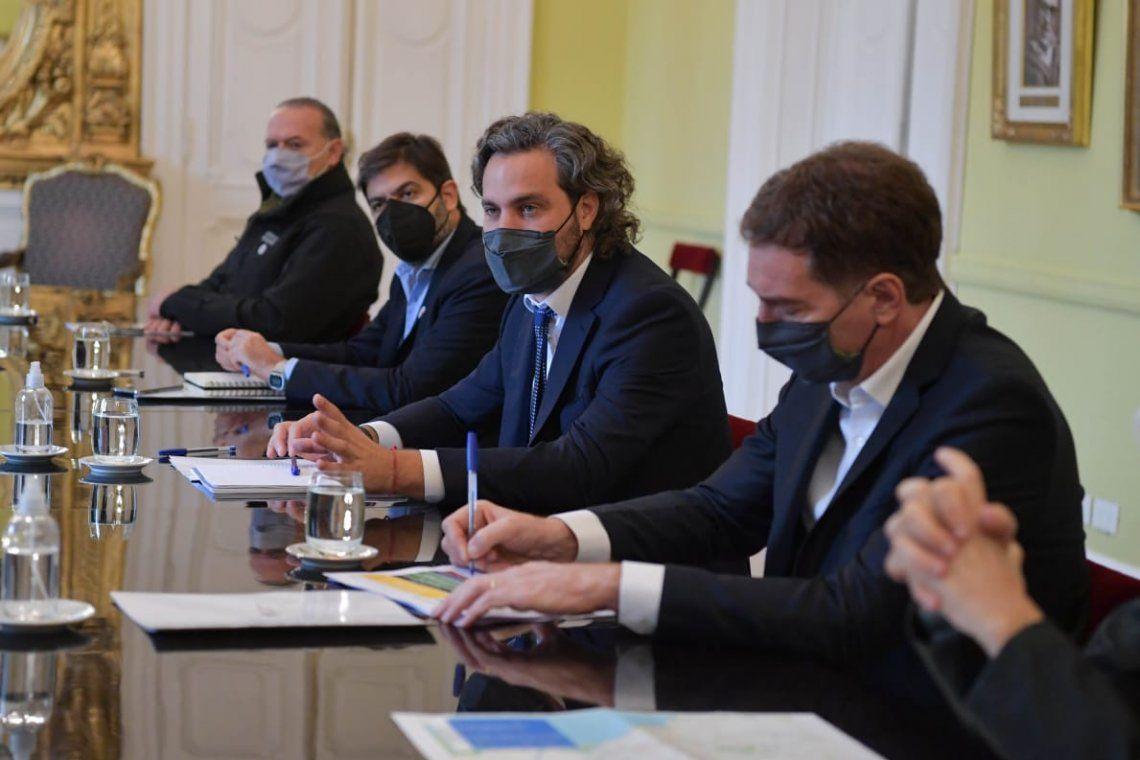 Reunión tripartita de la Nación