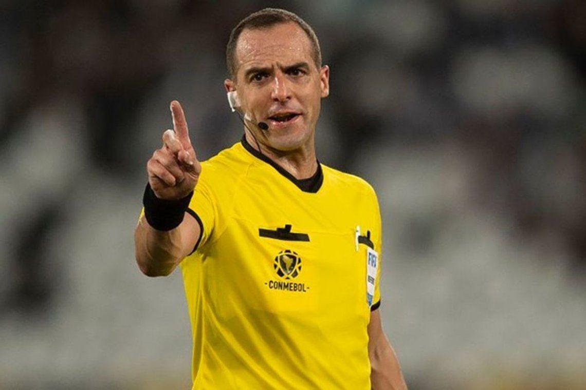 Ostojich será el árbitro de River-Fluminense.