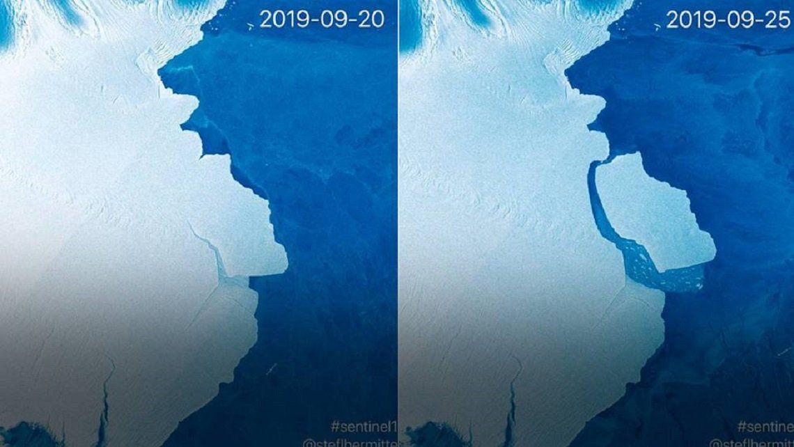 Enorme iceberg podría mantenerse a la deriva por años