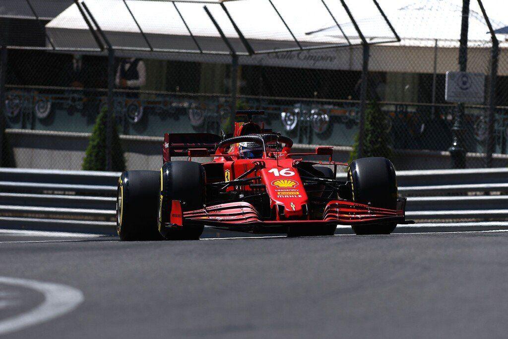 Charles Leclerc fue el más rápido en Mónaco