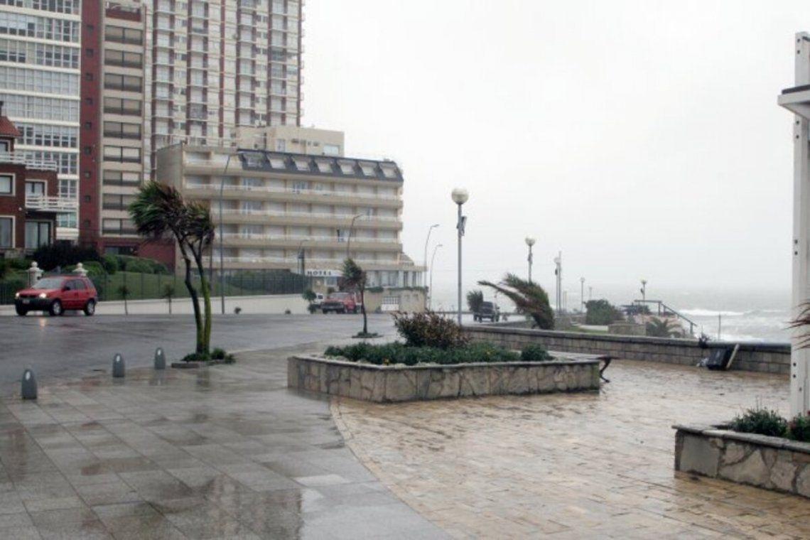Alerta por fuertes vientos para esta noche y las primeras horas de mañana en Mar del Plata y zonas aledañas