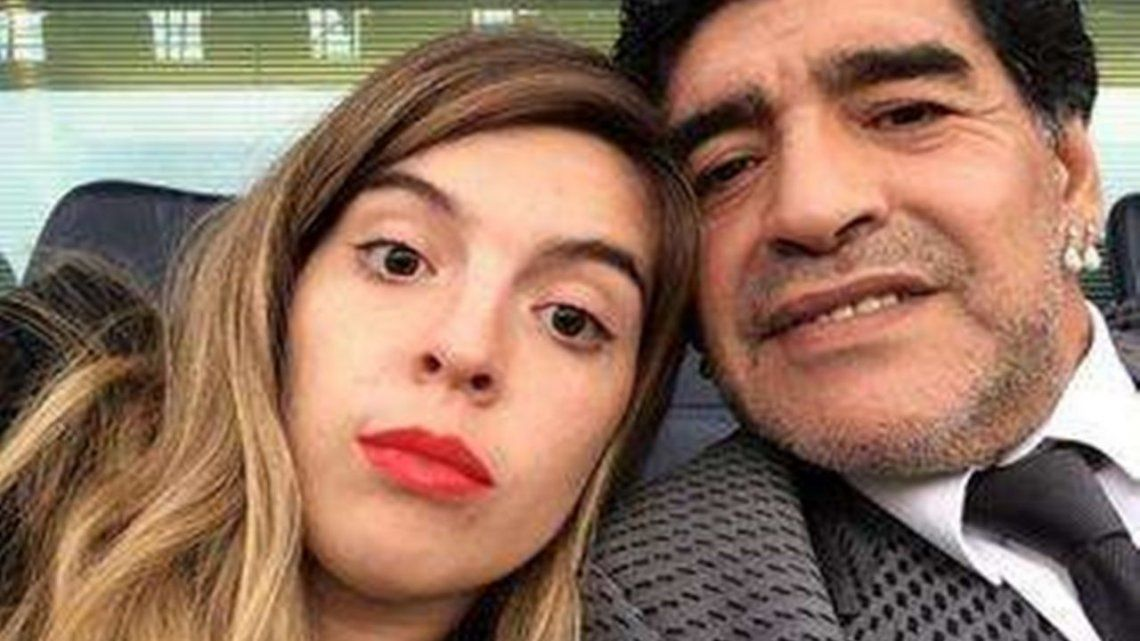 Dalma Maradona culpa a Leopoldo Luque por la muerte de su padre.