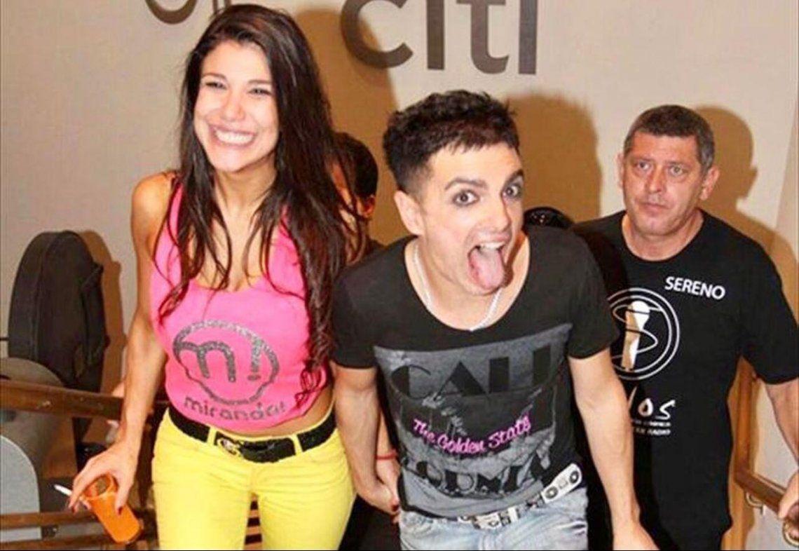 Ale Sergi tuvo un breve noviazgo con Andrea Rincón en 2014.