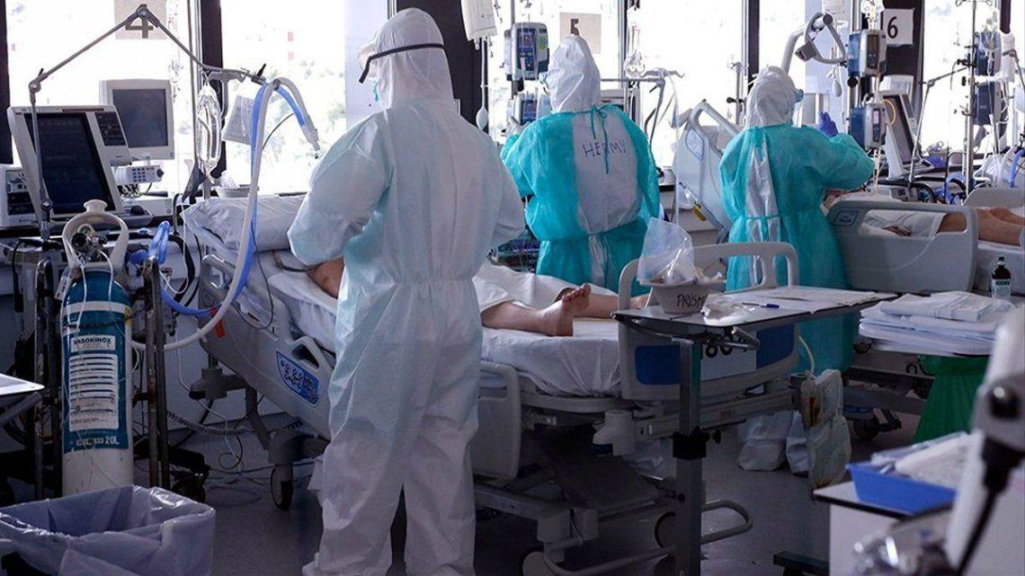 Coronavirus: Crecieron 113% los casos