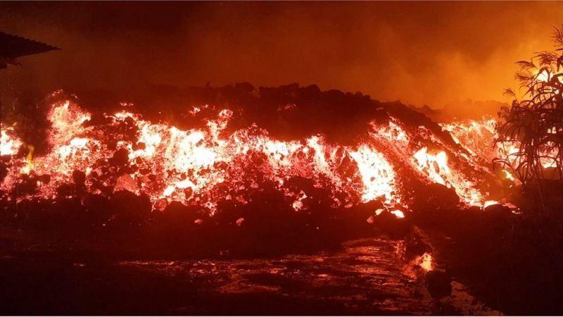 El Nyiragongo es uno de los volcanes más activos del mundo y se encuentra al este de la República Democrática del Congo.