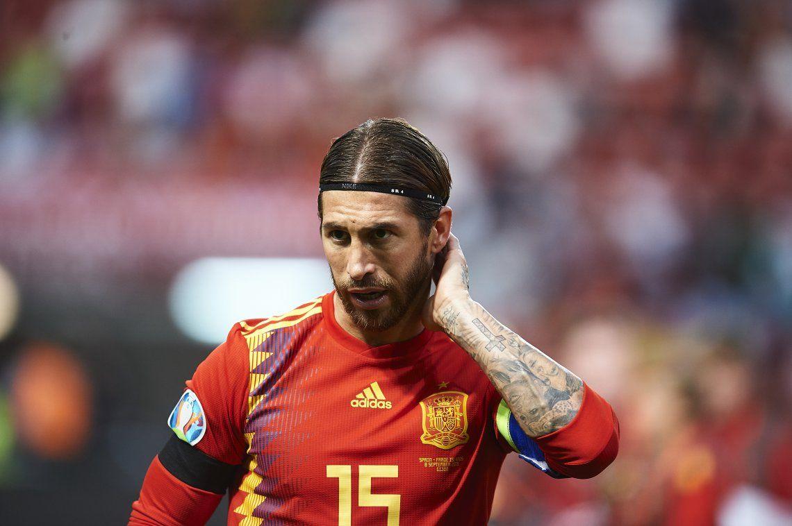 Bomba en España: Sergio Ramos queda fuera de la convocatoria y no jugará la Eurocopa