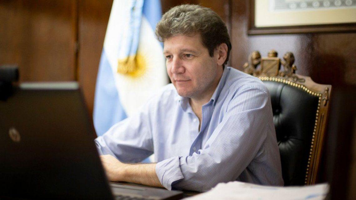 El gobernador de Tierra del Fuego