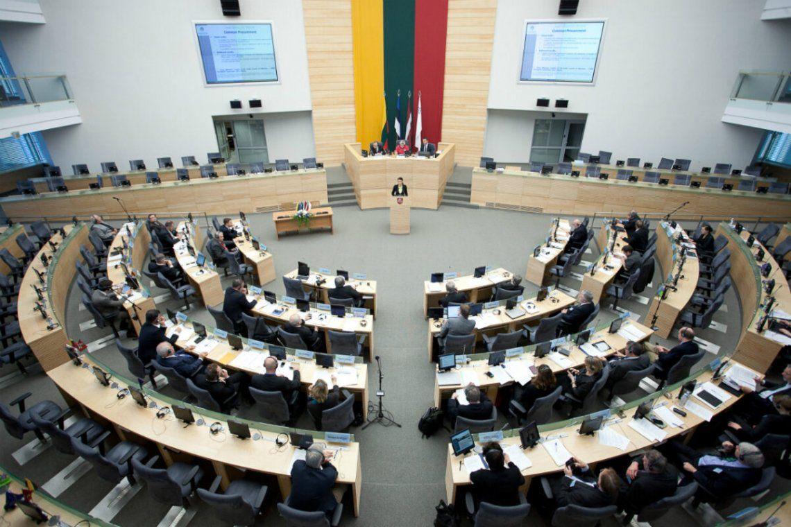 El Parlamento de Lituania (Seimas) rechazó el proyecto por dos votos.