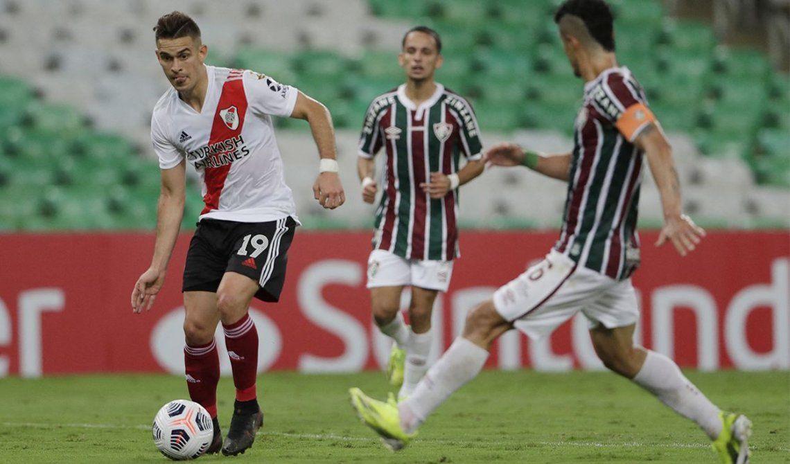 River busca los octavos de final de la Libertadores ante Fluminense