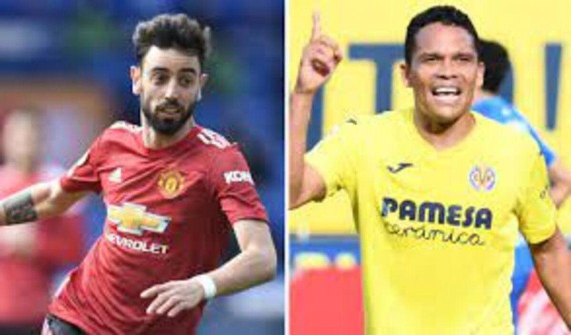 Manchester United y Villarreal disputrán la gran final de la Europa League