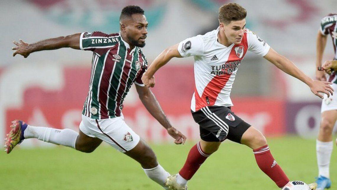 River y Flumiense disputan la última fecha de la Copa Libertadores