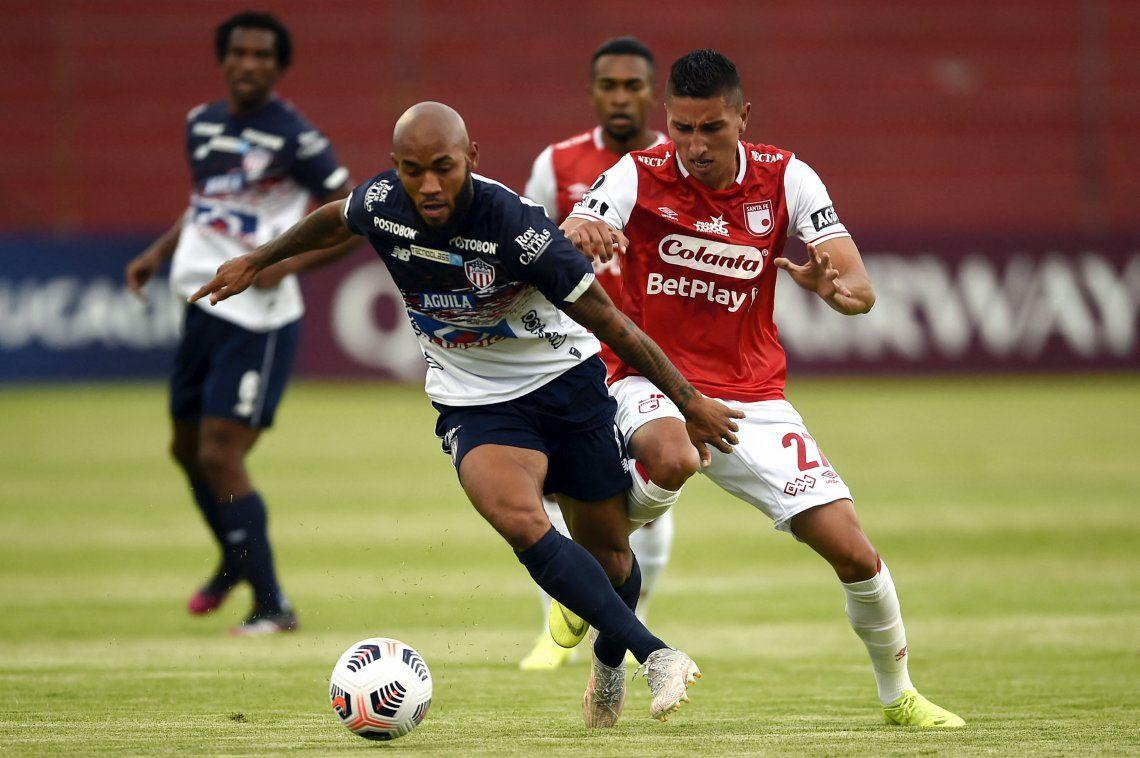 Junior dejó pasar su oportunidad y jugará la Copa Sudamericana