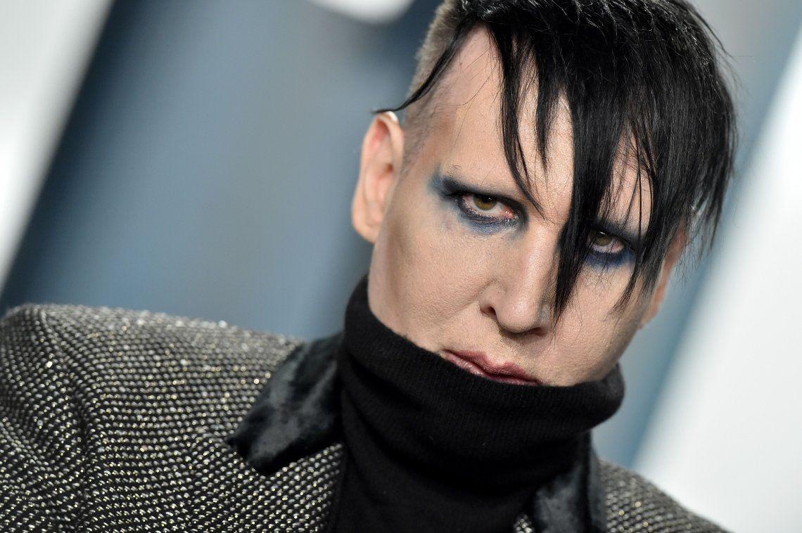 Emiten una orden de arresto contra Marilyn Manson