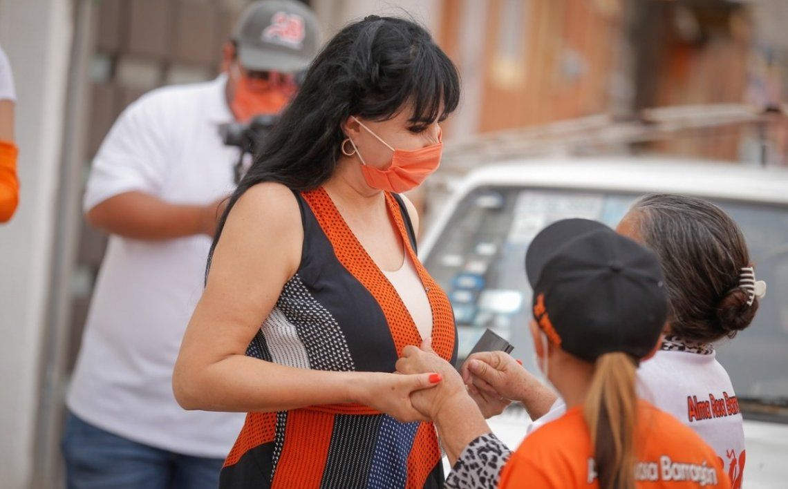 Alma Barragán era candidata para la alcaldía de Moroleón