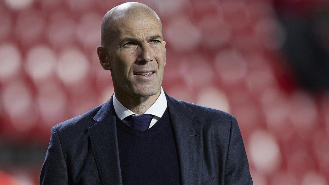 Zinedine Zidane dejó de ser el DT del Real Madrid
