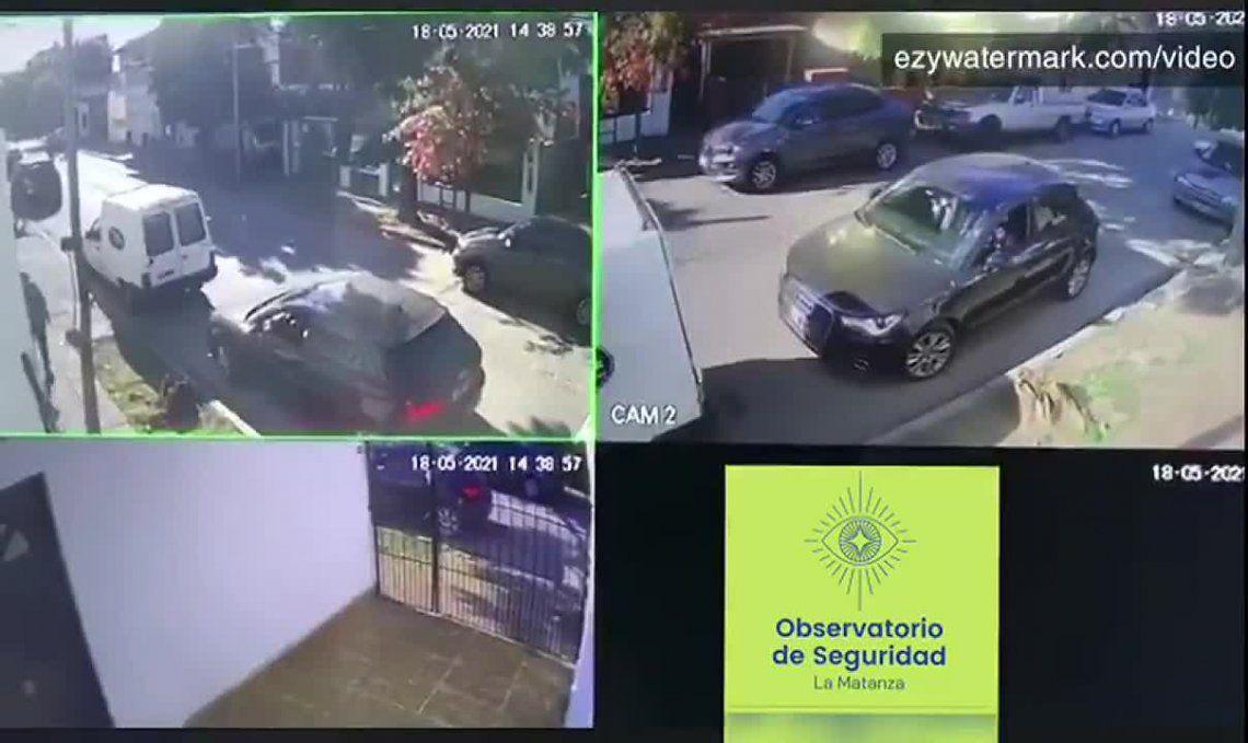 Los vecinos recopilaron una serie de videos donde se ve el accionar de los motochorros en el barrio.