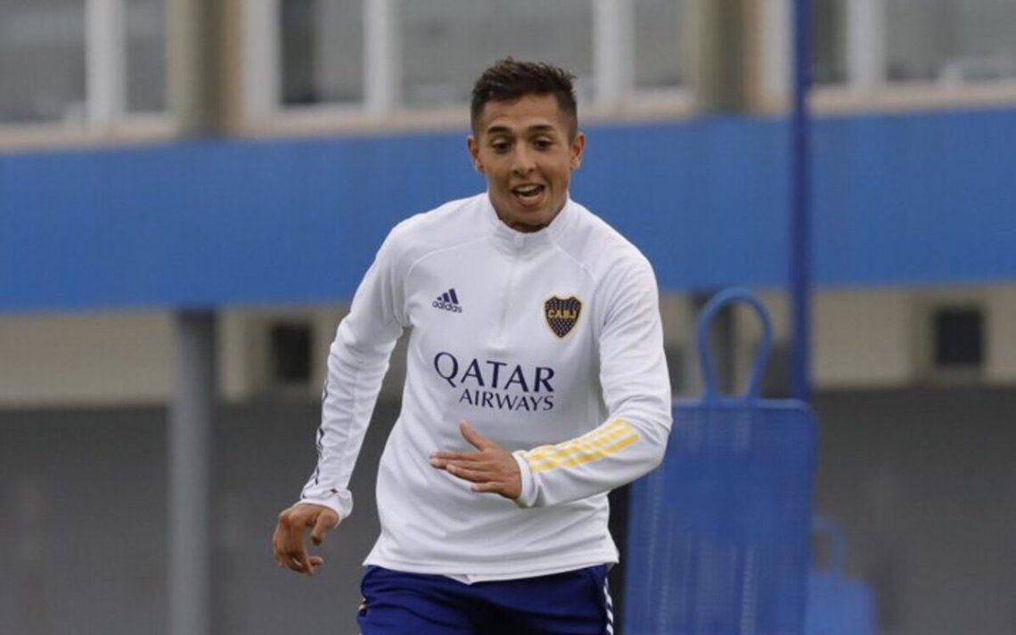 Agustín Almendra es baja ante Racing.