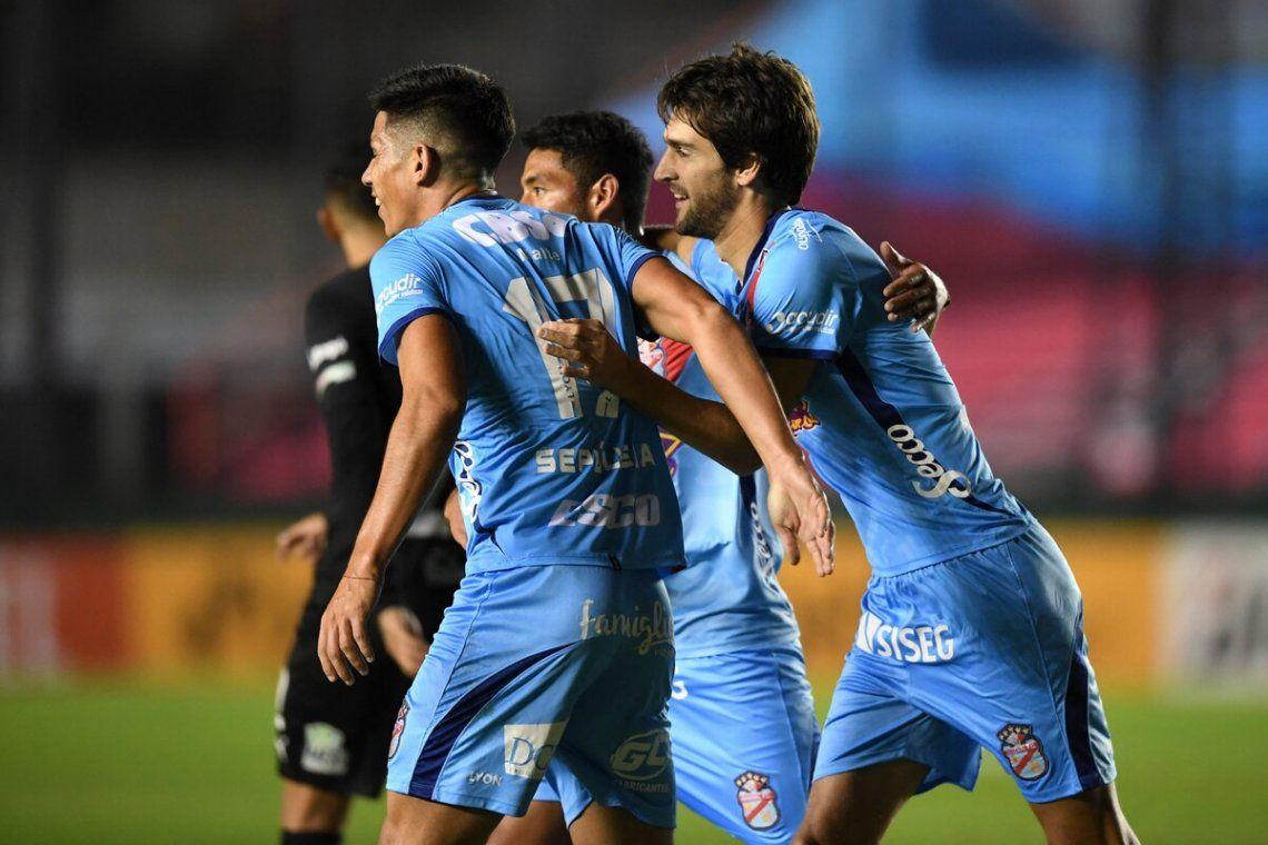 Arsenal está entre los 16 mejores de la Sudamericana.