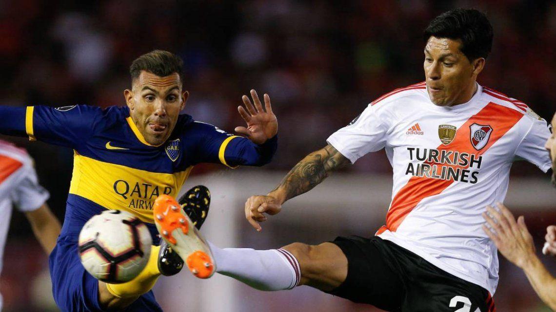 No habrá Boca - River en los octavos de final de la Copa Libertadores