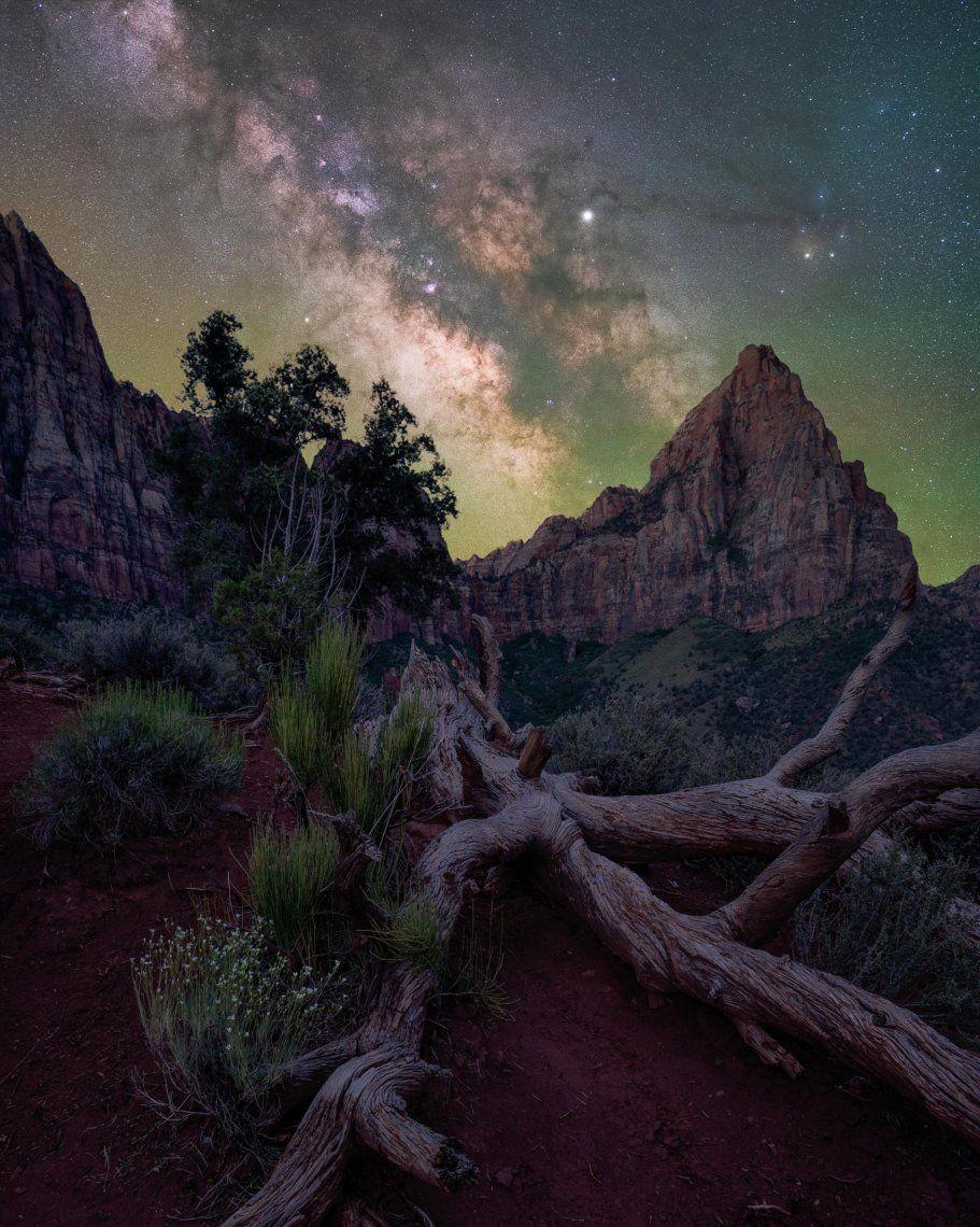 El vigilante - Brandt Ryder  Parque Nacional Zion