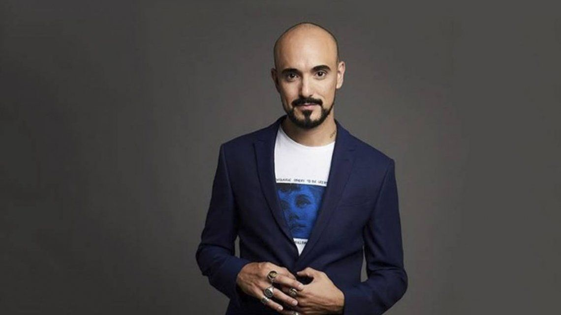 Abel Pintos presentó su nuevo disco: El amor en mi vida.