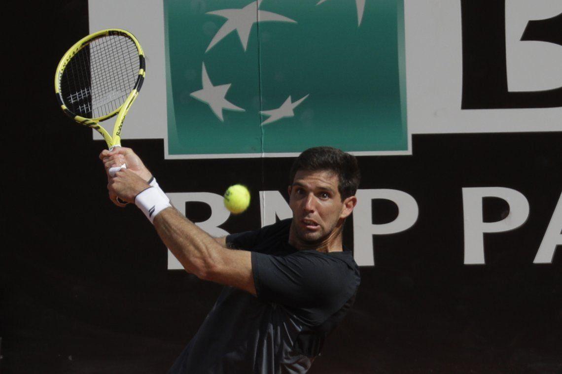 Fedrico Delbonis quedó al margen del torneo de Belgrado