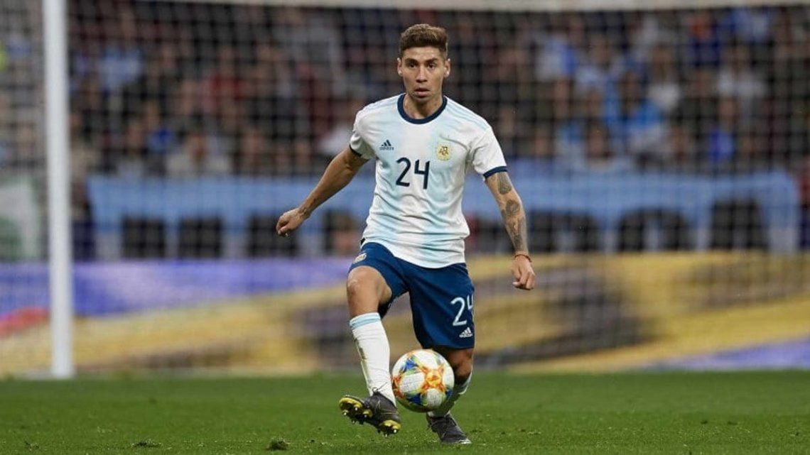 Gonzalo Montiel se sumó a la Selección Argentina