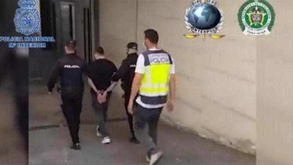 España: Detienen a sicario responsable de más de 100 muertes.